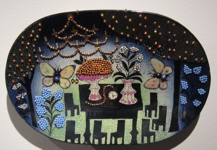 Birger Kaipiainen, a decorative plate