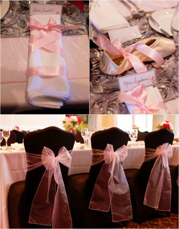 Ballet Dance Theme Bat Mitzvah Party, Pink Ballerina Decorations {Erica Westmoreland Photography} - mazelmoments.com