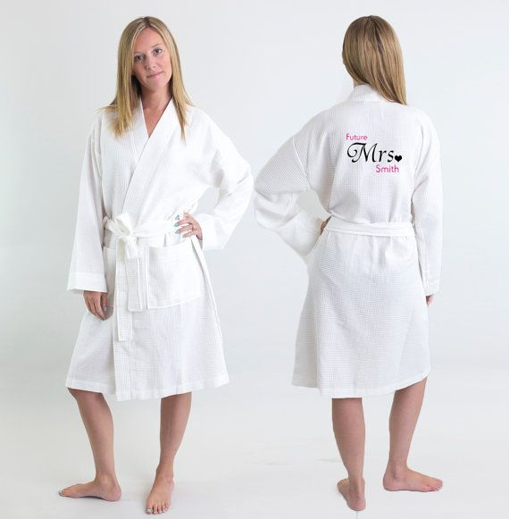 Bride Dressing Gown Personalised