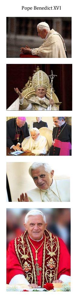 Pope Benedict XVI_collage