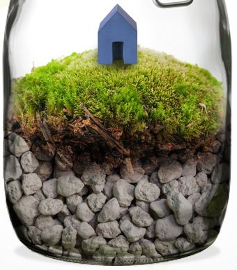IKEA | Time In A Bottle   How To Build A Terrarium In A Jar