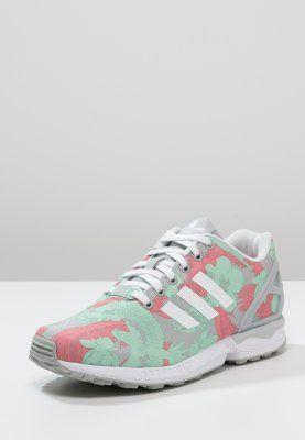 adidas Originals - ZX FLUX - Sneakers laag - clear onix/white/vista pink