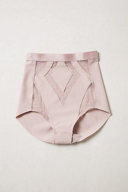 High waist knickers #lingerie