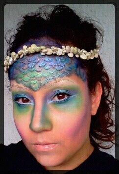 159 best Mermaid Makeup images on Pinterest | Make up, Mermaid ...