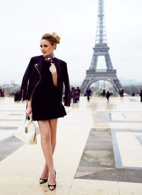 Kristina Bazan and Louis Vuitton Alma BB Bag Photograph