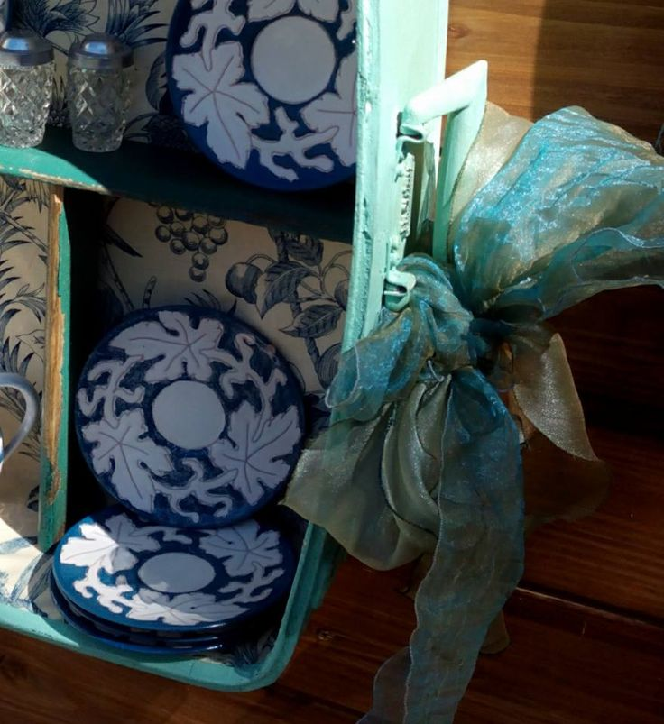 valigia shabby chic ideablue