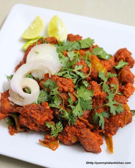 Chicken 65 Recipe Hyderabadi Gravy Dry Restaurant Style Recipe