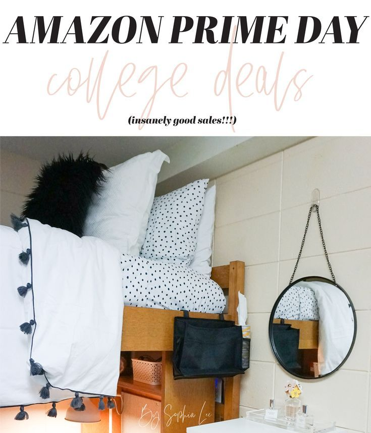 Best amazon prime day deals for college dorm room