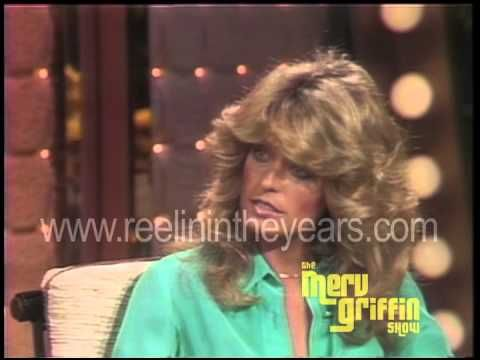 Farrah Fawcett Interview- Charlie's Angels (Merv Griffin Show 1976)