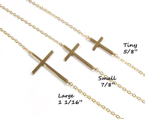 47 best sideways cross necklaces images on pinterest sideways sideways cross necklace kelly ripa sterling silver by gemsinvogue mozeypictures Images