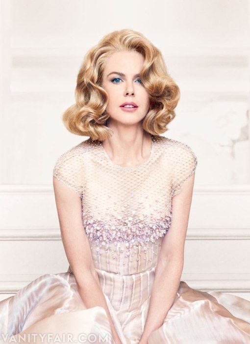 A GLAMOROUS LIFE: Nicole Kidman by Patrick Demarchelier for Vanity Fair December 2013