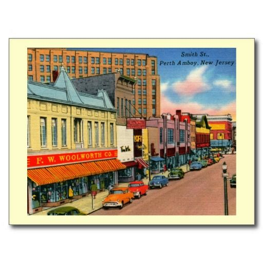 16 best perth amboy nj images on pinterest perth amboy new jersey smith st perth amboy new jersey vintage postcard reheart Image collections