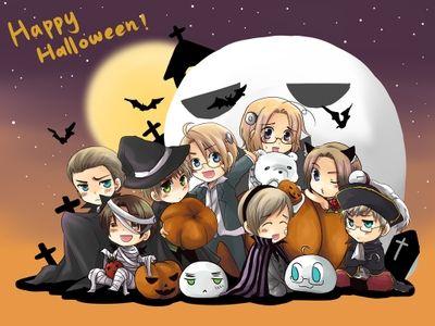 Resultado de imagem para imagens de halloween animes