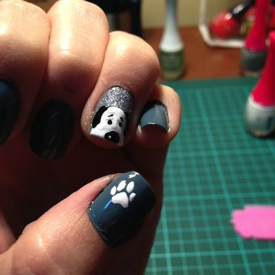 69 best doggy nail art images on pinterest nail designs dognail2 dog nail artdog prinsesfo Gallery