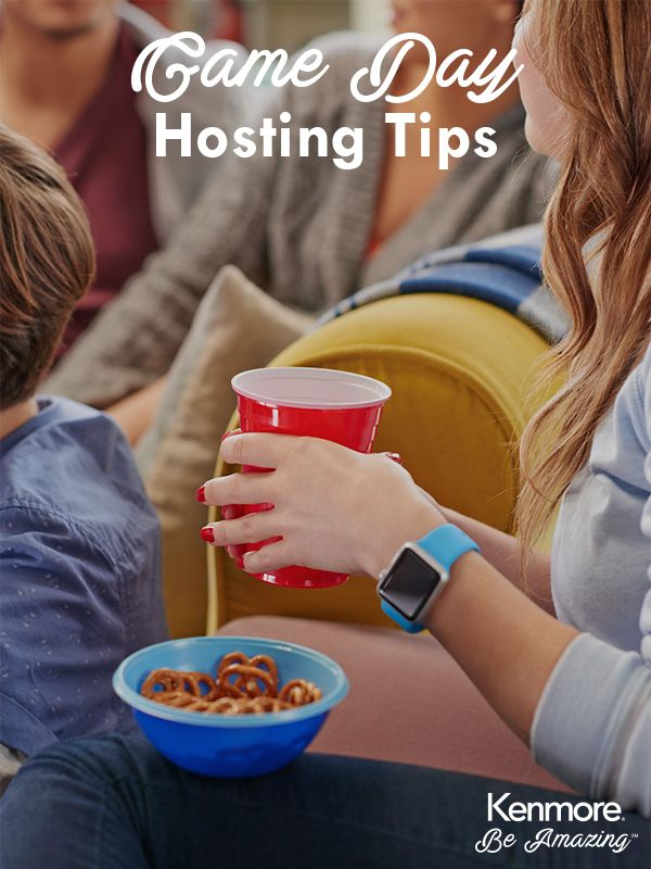 Make your game day party one to remember with these fun hosting tips.