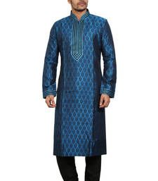 Buy Blue Kurta Pyjama Sets anniversary-gift online