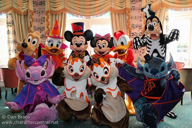 Halloween News for Disney Cruise Line and Disneyland Paris, and more! - Disney Character Central Blog