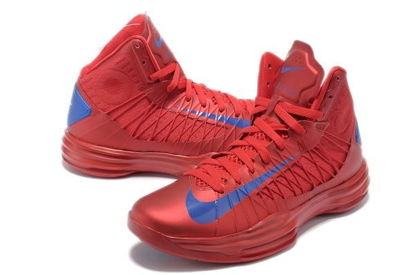 Nike Lunar Hyperdunk X 2012 LeBron James Red/Royal Blue Basketball shoes