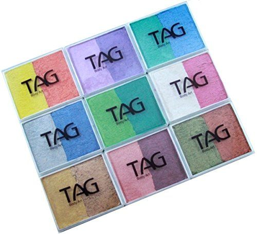 TAG Face Paint 50g Pearl Palette * Find out more at the image link. #CraftSupplies