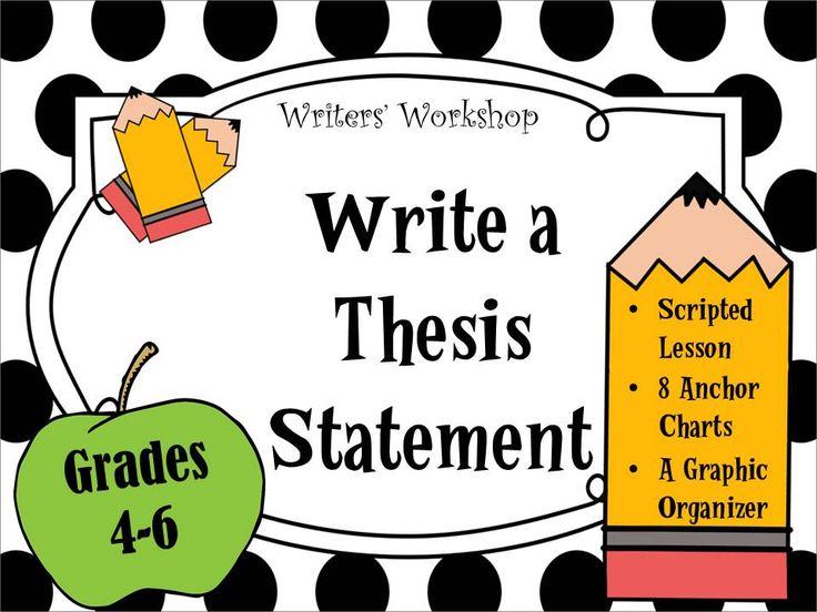 teaching thesis writing