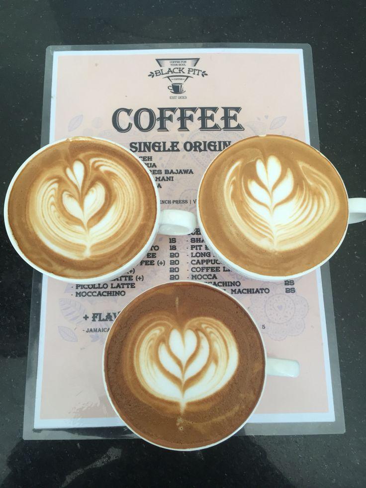 Morning coffee.. Yes we're open!   #coffeeshop #blackpitcoffee #coffee #bali #indonesia