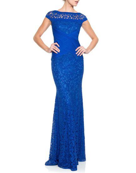 Взять в прокат Женская одежда Платья Tadashi Shoji , Royal Blue X Gow Москва