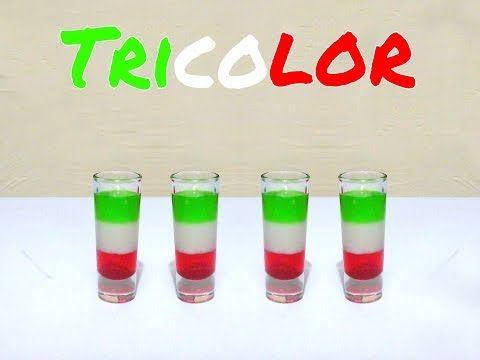 Tricolor/Tricolour - Tragos y Cócteles/Cocktails & Shots - YouTube
