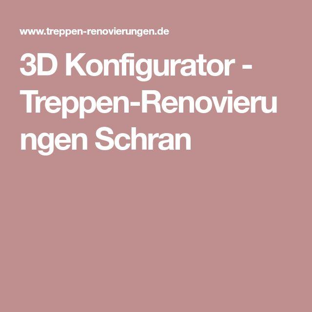 3D Konfigurator - Treppen-Renovierungen Schran