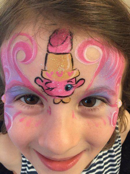 Lippy Lips Shopkins Face Paint