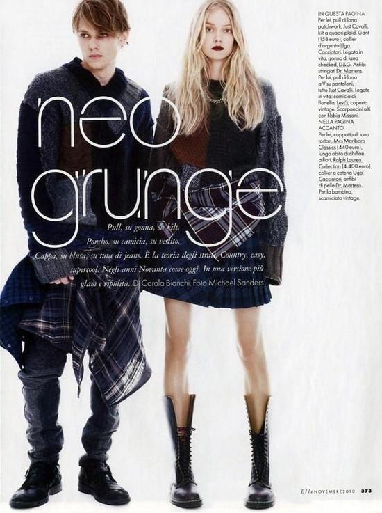 Neo Grunge / On Trend / Fashion