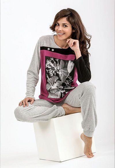 Pijama invierno mujer Massana http://www.perfumeriaelajuar.com/homewear/pijama-mujer-invierno-/30/