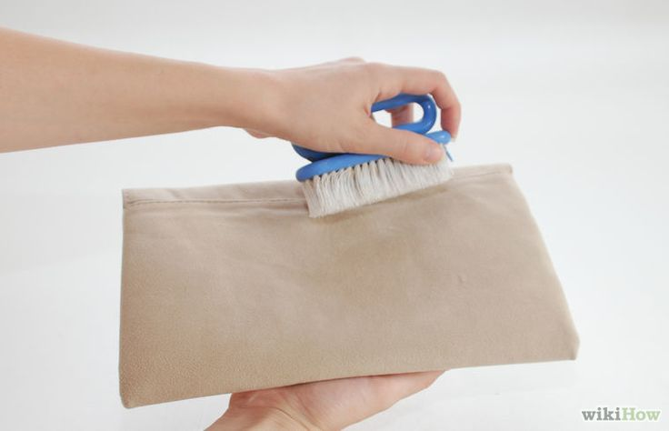 Image titled Clean Stains off a Suede Purse Step 1