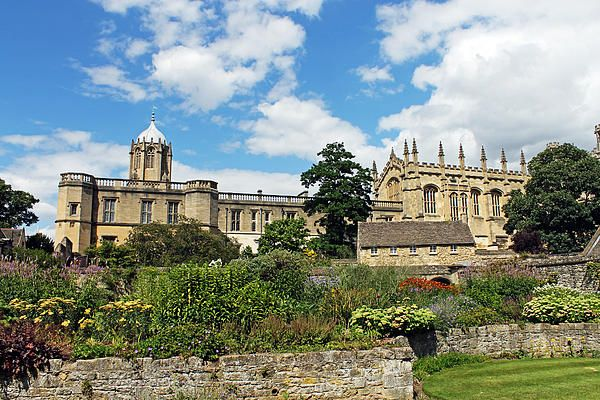 Christ Church Cathedral, Oxford. The Cathedral is the College Chapel for Christ Church College as well as the cathedral church for the Diocese of Oxford.