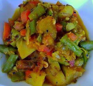 104 best bengali recipe images on pinterest international recipes a homemakers diary panchmisheli tarkari bengali style mixed veg forumfinder Choice Image