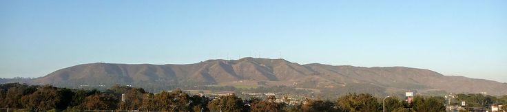 San Bruno Mountain, from Daly City, CA