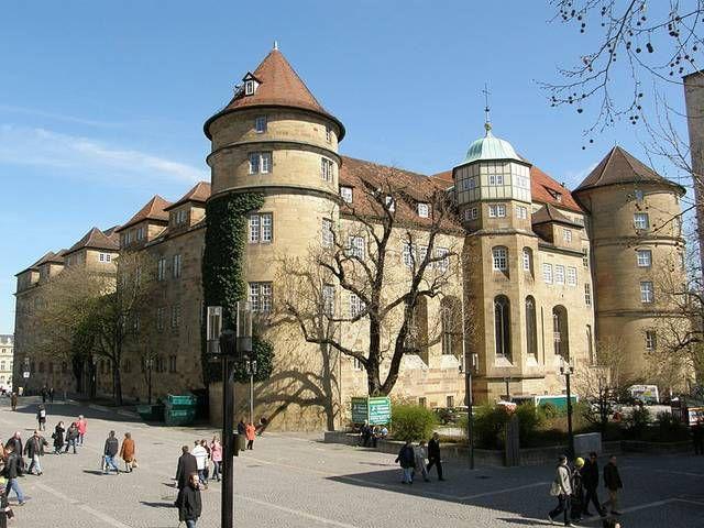 Das Alte Schloss befindet sich im Zentrum von Stuttgart, der Hauptstadt der deutschen …   – Germany