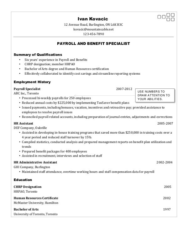 As 400 System Operator Resume - Submission specialist