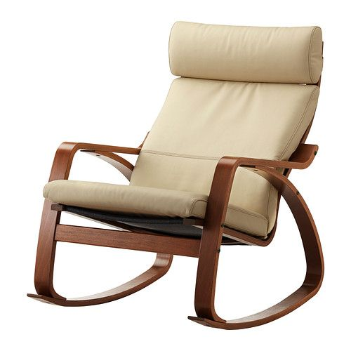 po ng rocking chair birch veneer robust glose black medium brown and rocking chairs. Black Bedroom Furniture Sets. Home Design Ideas