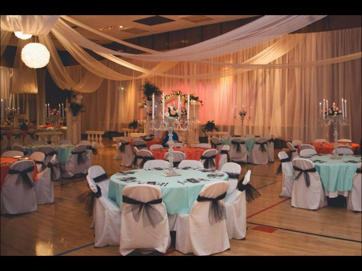 An Lds Wedding Set Up Classic And Affordable