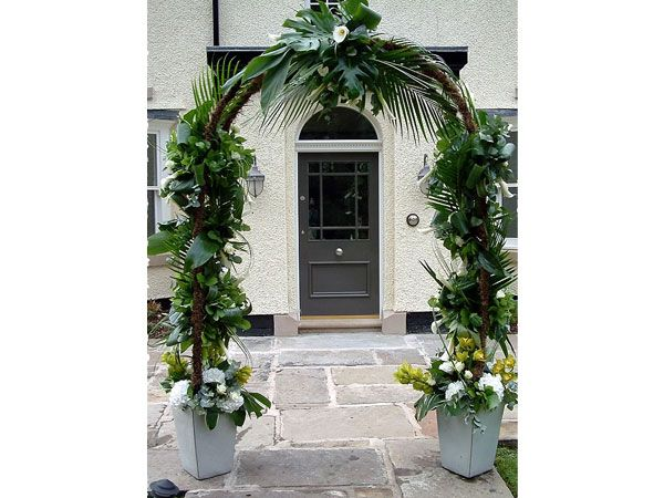 52 best images about centros on pinterest mesas white for Arcos para jardin