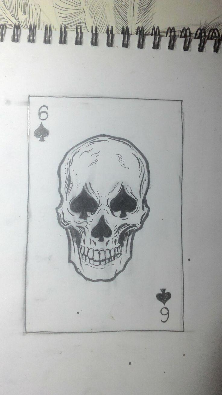 #ynnp #skull #tattoo #череп #тату