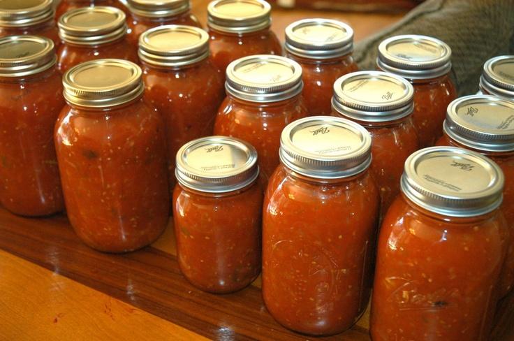 Canning: Marinara Sauce: Sauces Recipe, Canning Tomatoes, Canning Marinara Sauces, Holidays Gifts, Fresh Tomatoes, Pasta Sauces, Batch Marinara, Homemade Marinara Sauce, Canning Recipe