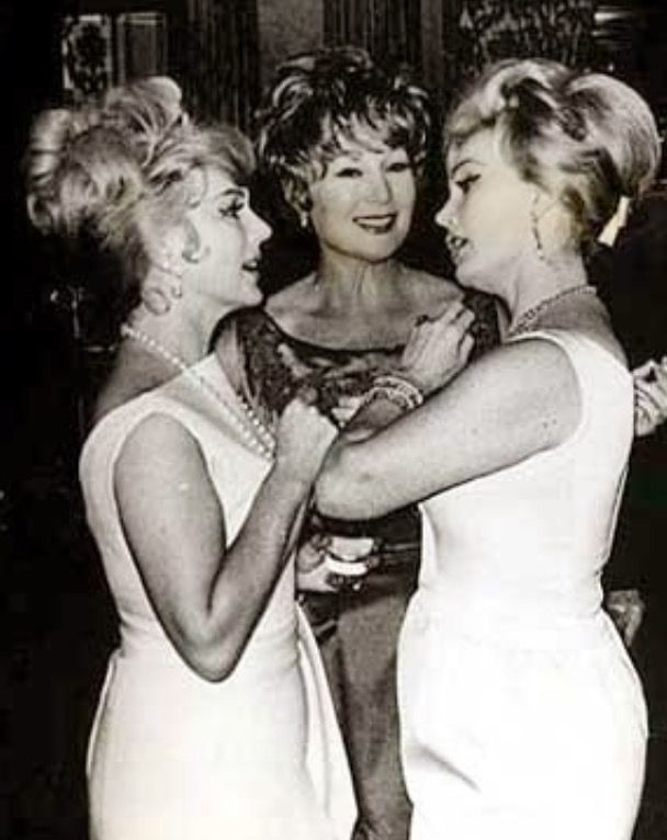 Eva, Zsa Zsa and Magda Gabor