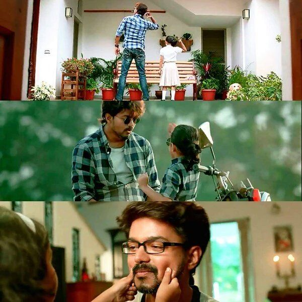 Father And Daughter Theri Pinterest Actors Father And Actresses