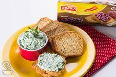 aprenda a fazer essa deliciosa Pasta de espinafre com ricota especialmente preparada para a Vitarella