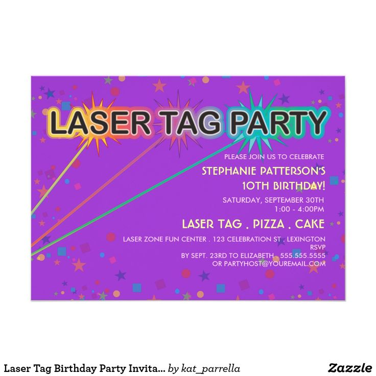 38 best Lasertag birthday party ideas images on Pinterest ...