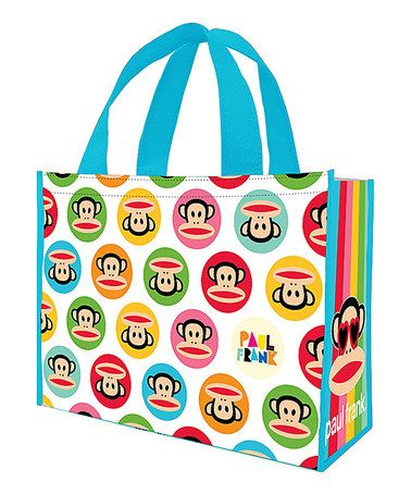 Another great find on #zulily! Paul Frank Large Recycled Shopper - Set of Two #zulilyfinds