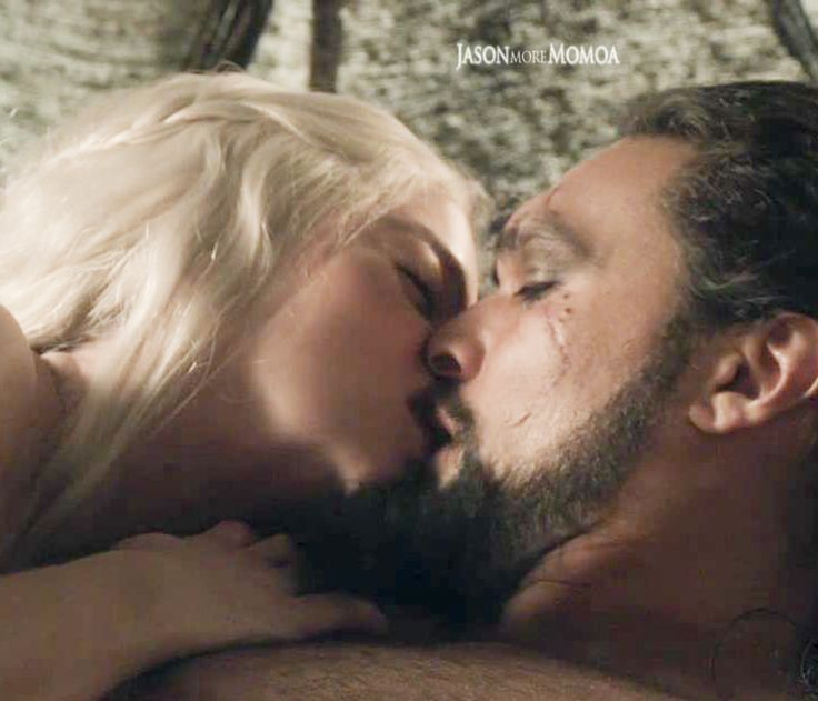Jason Momoa, Khal Drogo and Daenerys