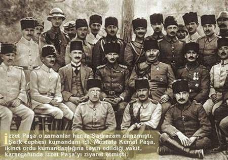 Mustafa Kemal İzett Paşa ile