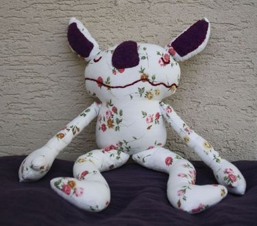 Little monster http://monahtoys.blogspot.sk/